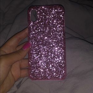 Brand new pink iPhone X case